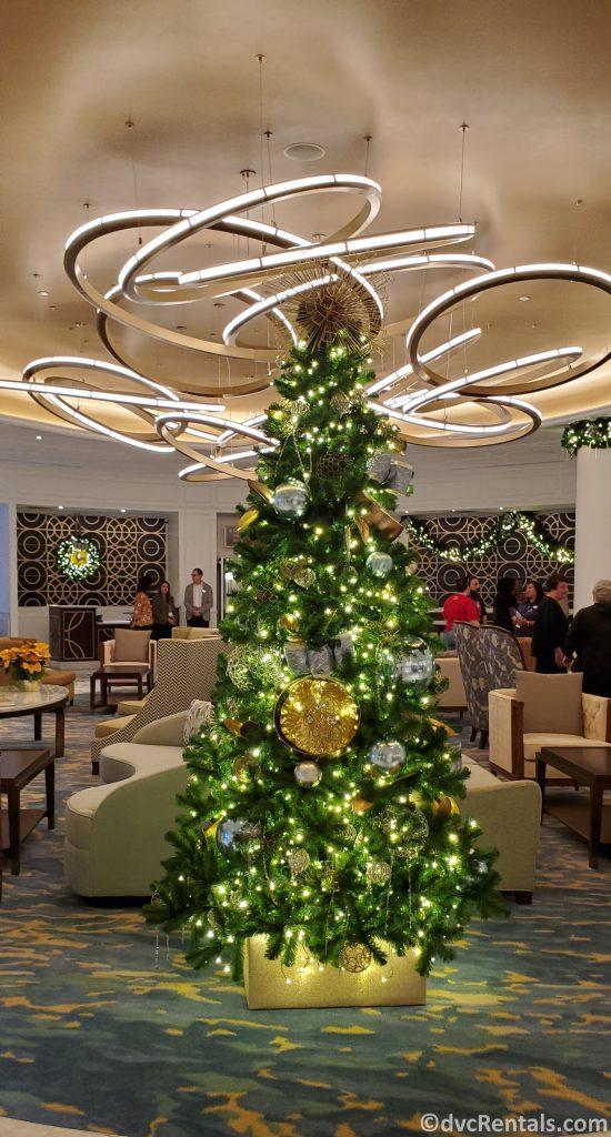 Christmas Tree at Disney's Riviera Resort