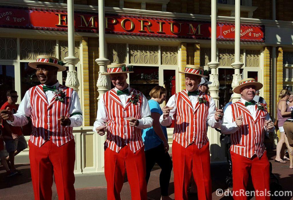 The Dapper Dans at Disney's Magic Kingdom