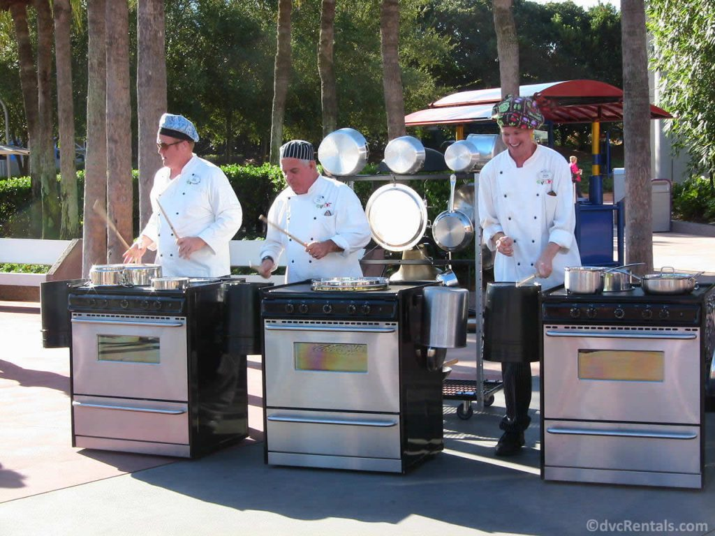 Jammin' Chefs at the Epcot International Food and Wine Festival