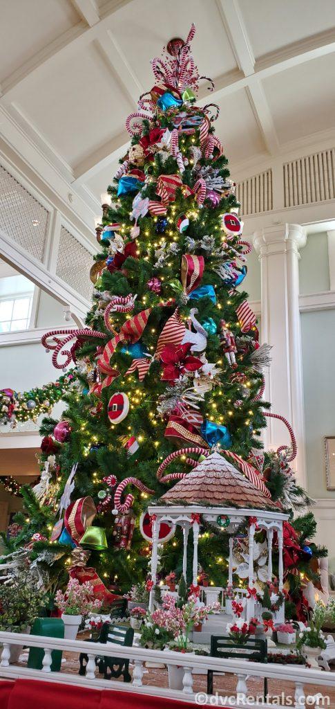 Christmas Tree at Disney's Boardwalk Villas