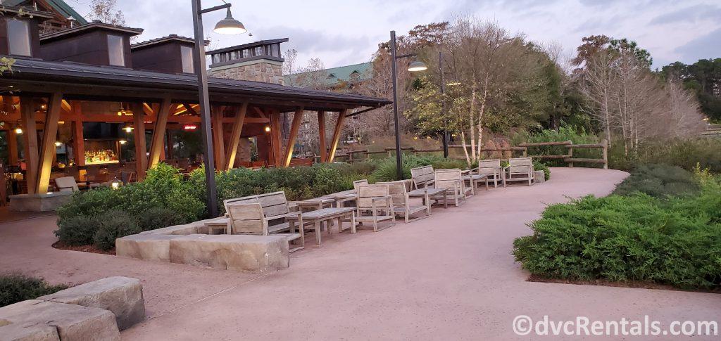 Geyser point Restaurant at Disney's Wilderness Lodge