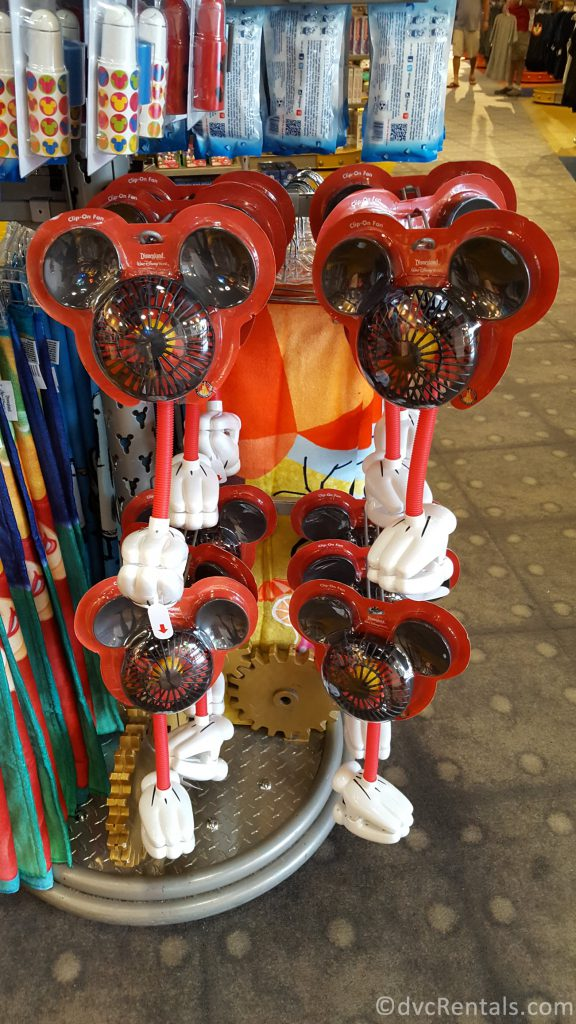Mickey Mouse shaped fan
