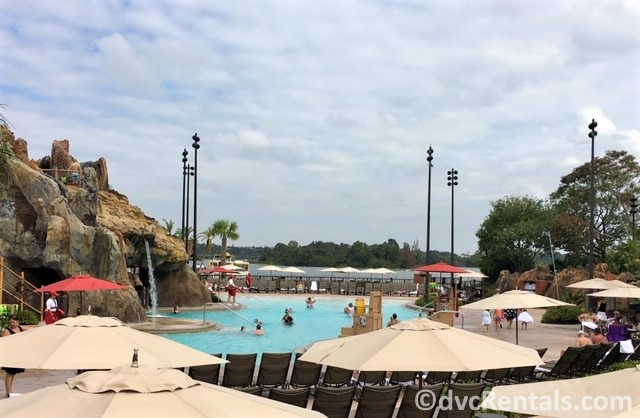 main pool at Disney's Polynesian Villas & Bungalows