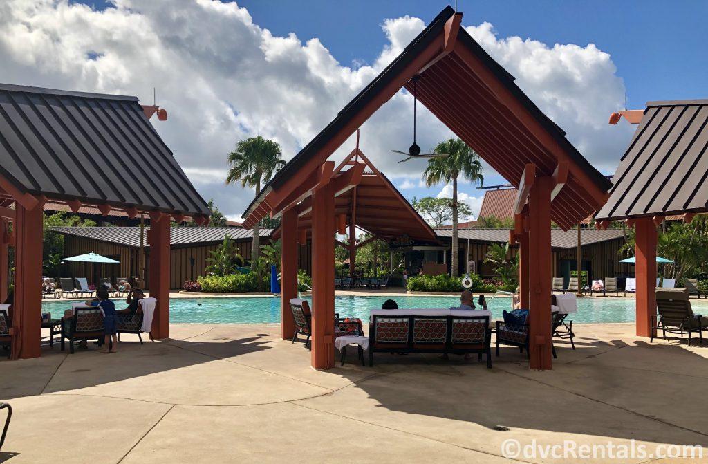 Oasis Pool at Disney's Polynesian Villas & Bungalows