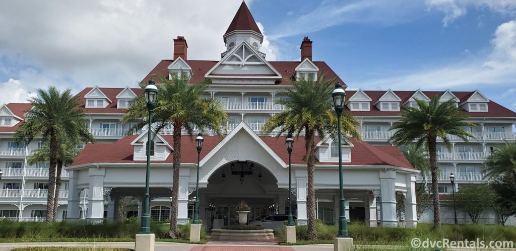 the Villas at Disney's Grand Floridian