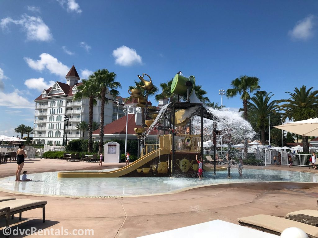Splashpad at Disney's Grand Floridian