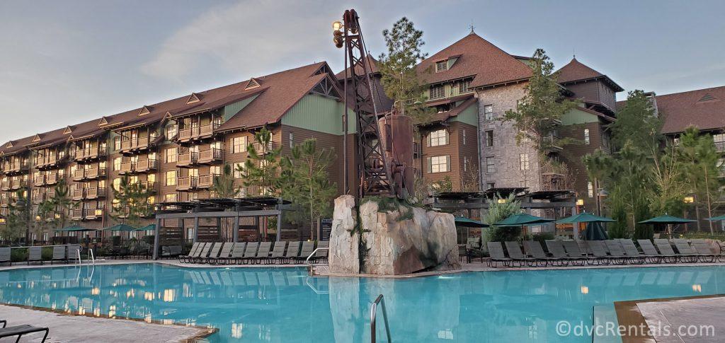 Boulder Ridge Pool at Disney's Wilderness Lodge