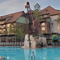 Boulder Ridge Pool at Disney's Wilderness Lodge