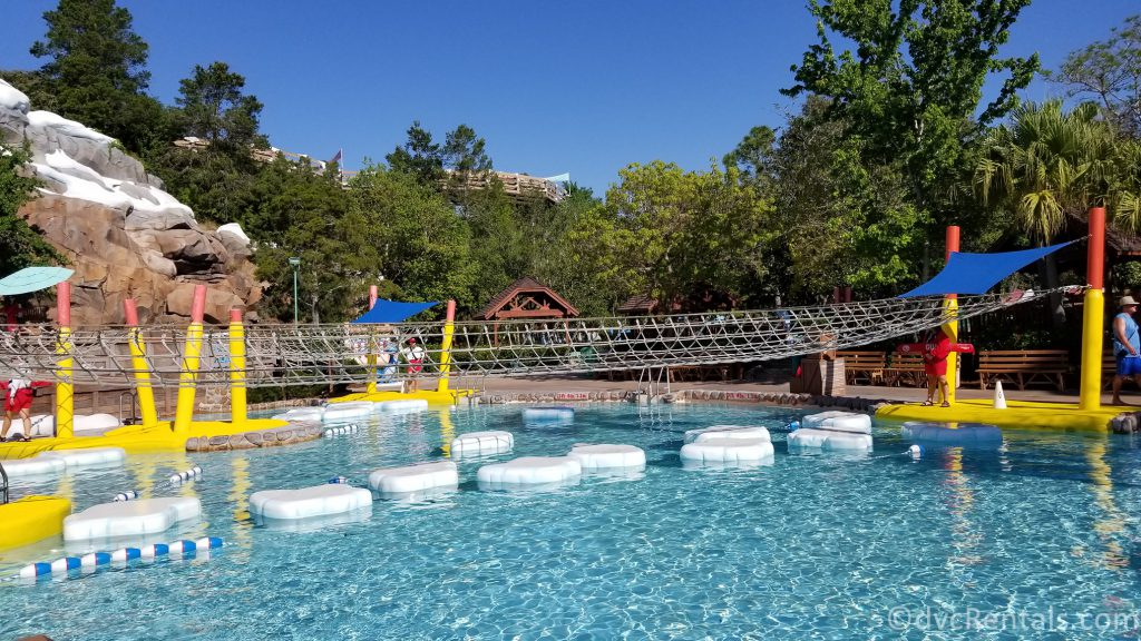 play area at Blizzard Beach