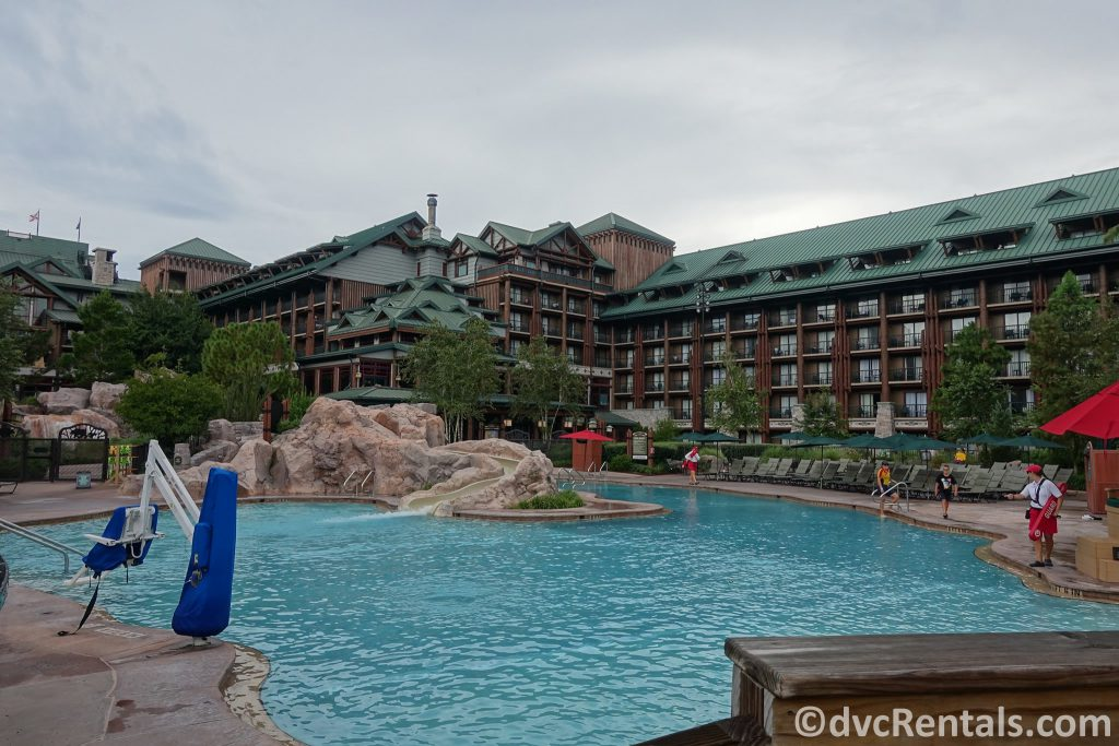 pool at Copper Creek Villas & Cabins at Disney's Wilderness Lodge