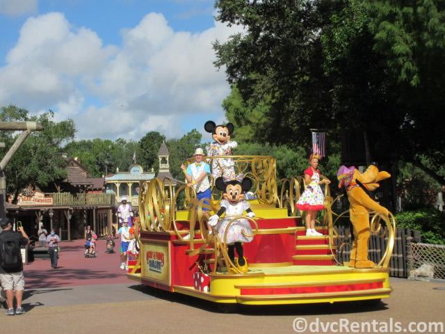 Character Cavalcade at the Magic Kingdom