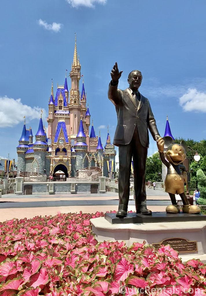 Partners Statue at the Magic Kingdom