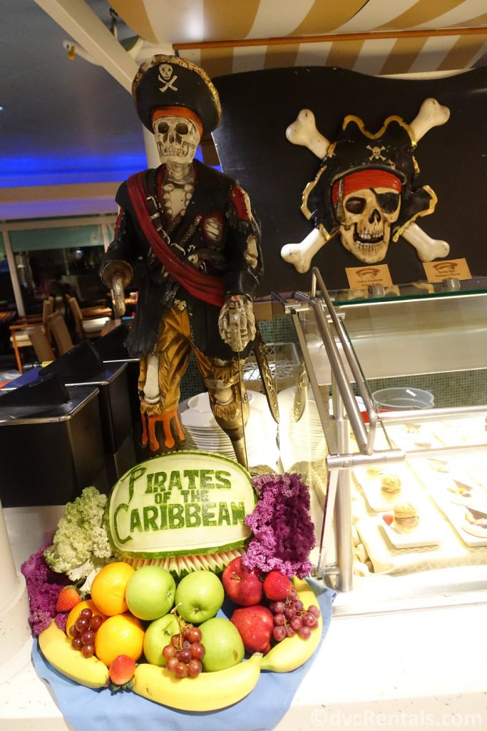 Pirate Night buffet