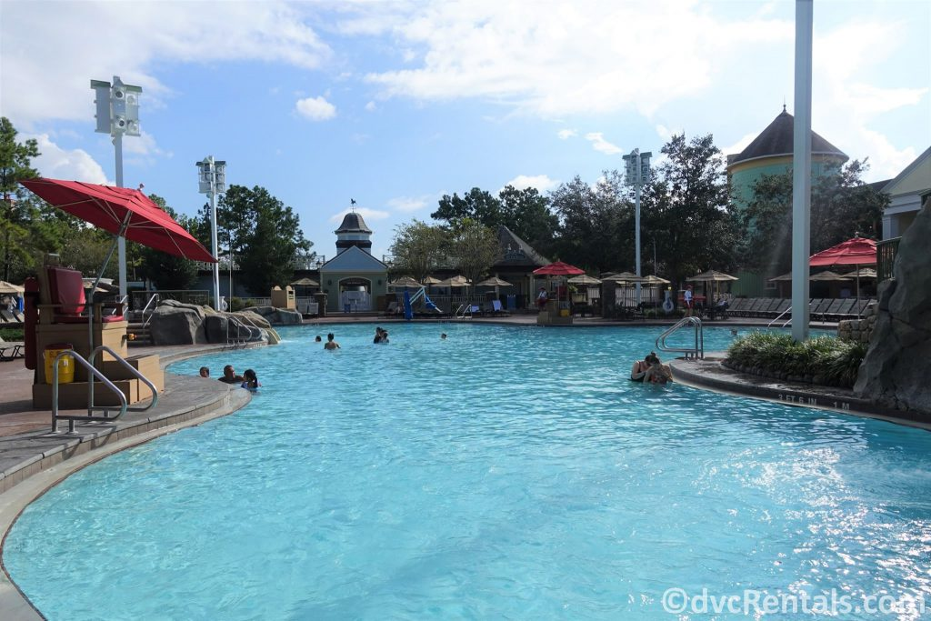High Rock Springs pool at Disney's Saratoga Springs Resort & Spa