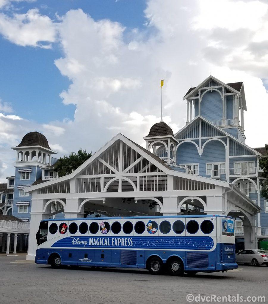 Disney's Magical Express at Disney's Beach Club Villas