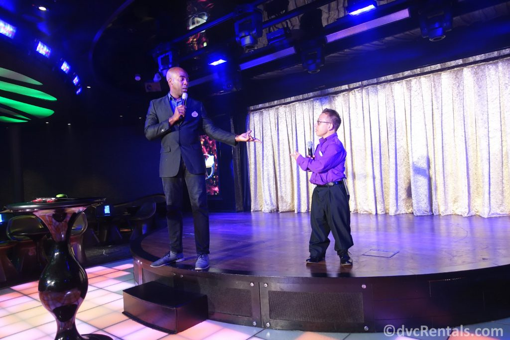 Entertainment on the Disney Dream