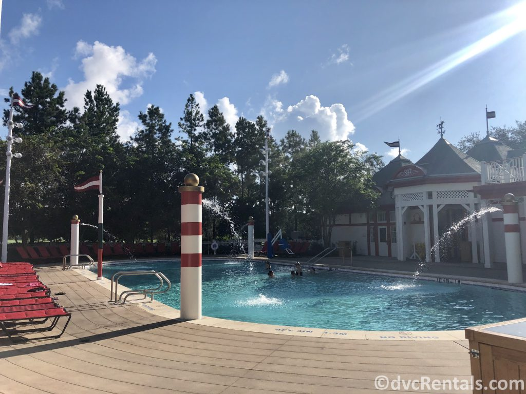 The Grandstand pool at Disney's Saratoga Springs Resort & Spa