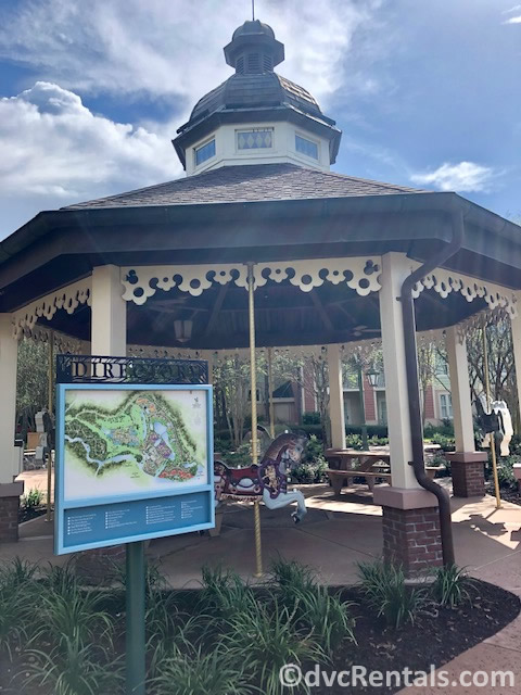 Carousel area at Disney's Saratoga Springs Resort & Spa