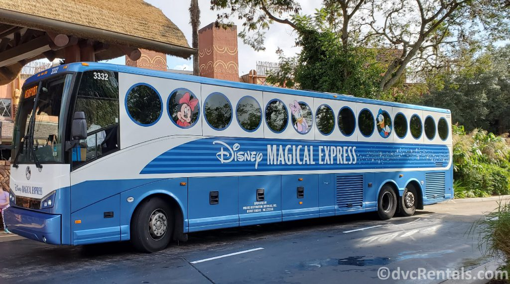 Disney's Magical Express at Disney's Animal Kingdom Villas
