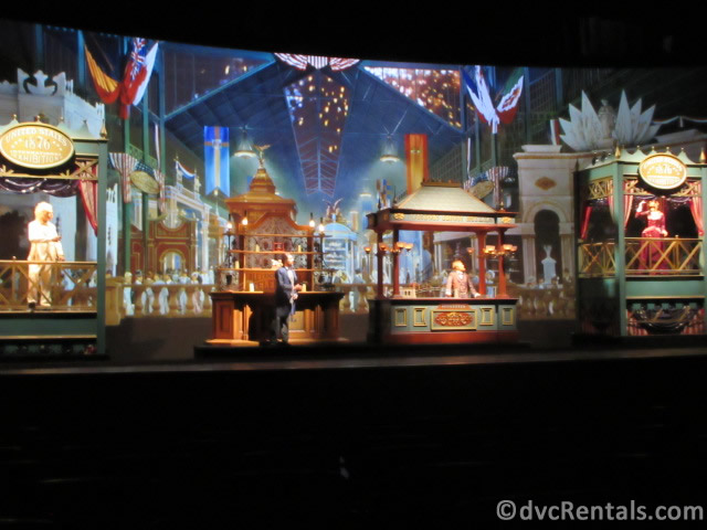 The American Adventure from the World's Fair