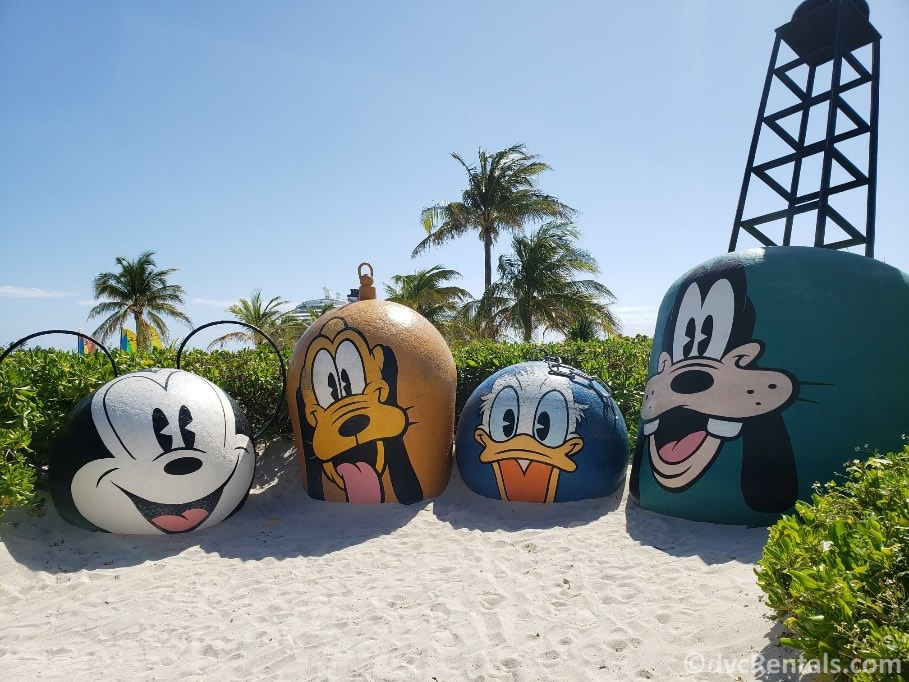 Photo spot at Castaway Cay