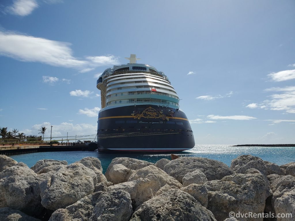 Exterior shot of the Disney Dream