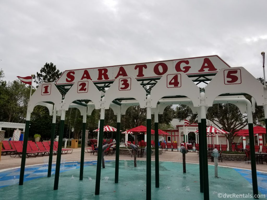 Splashpad at Disney's Saratoga Springs Resort