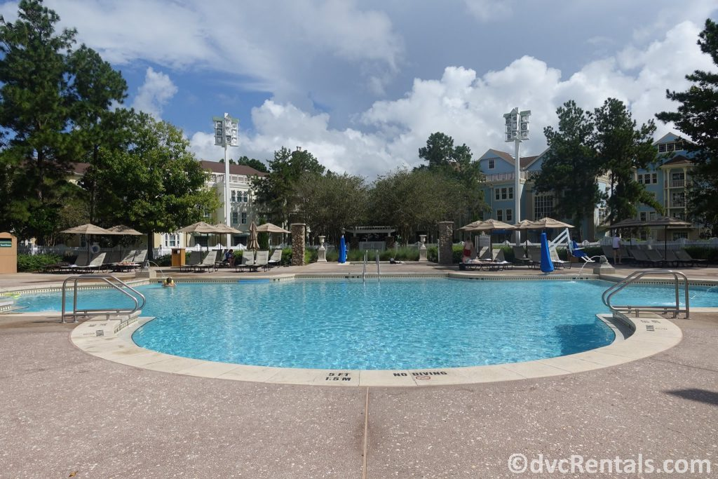 Congress Park pool at Disney's Saratoga Springs Resort & Spa