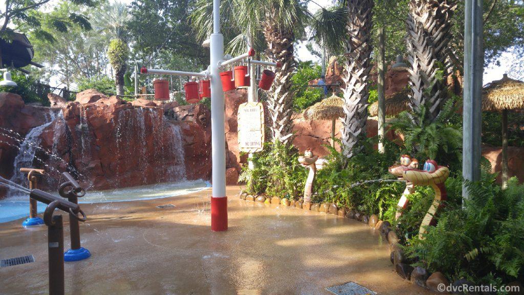 Splashpad at Disney's Animal Kingdom Villas