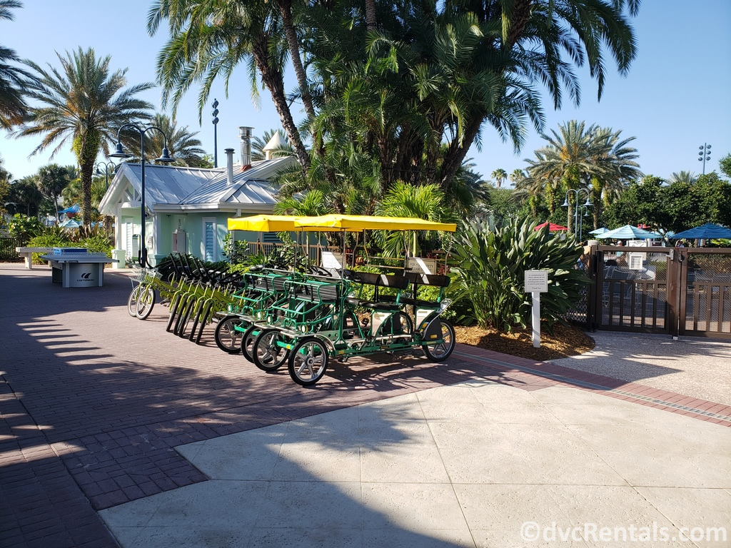 Surrey Bike at Disney's Old Key West