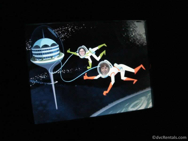 Guest's video created on Spaceship Earth