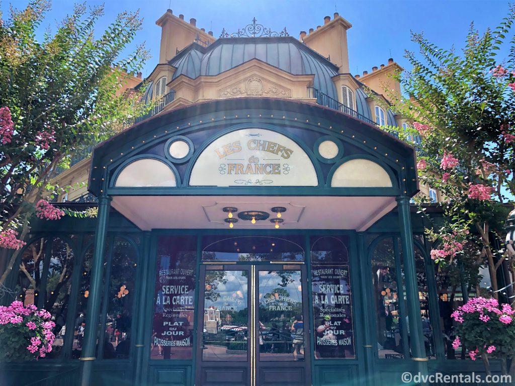 Entrance for Chefs de France