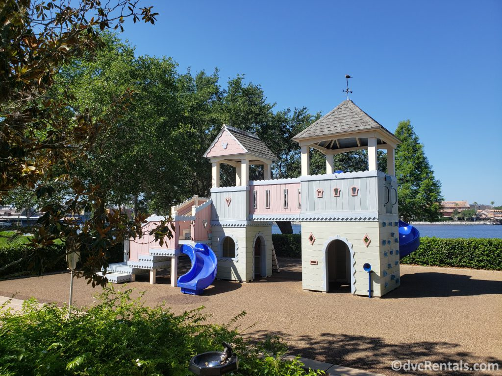 Playground at Disney's Saratoga Springs