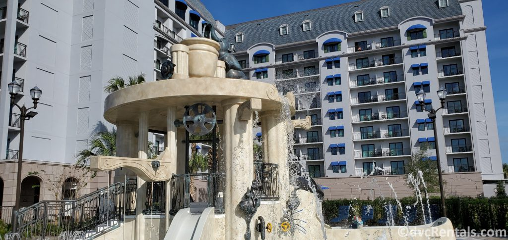 Splashpad at Disney's Riviera Resort