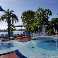 Splashpad at Disney's Bay Lake Tower