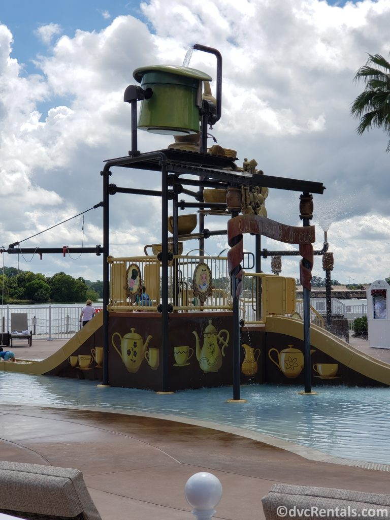Splashpad at Disney's Grand Floridian Villas