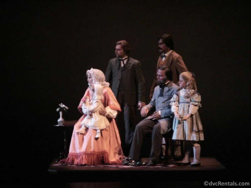 Audio-animatronics from the American Adventure at Epcot