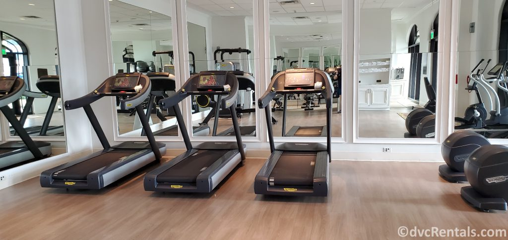 Fitness Center at Disney's Riviera Resort