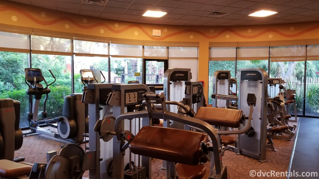Fitness Center at Disney's Animal Kingdom Villas – Kidani Village