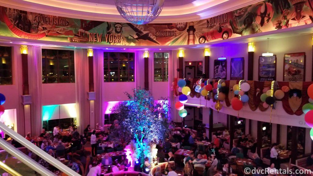 Main dining room at Maria & Enzo's