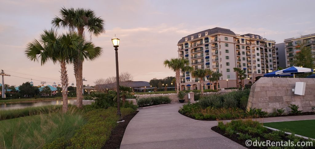 Running Trail at Disney's Riviera Resort