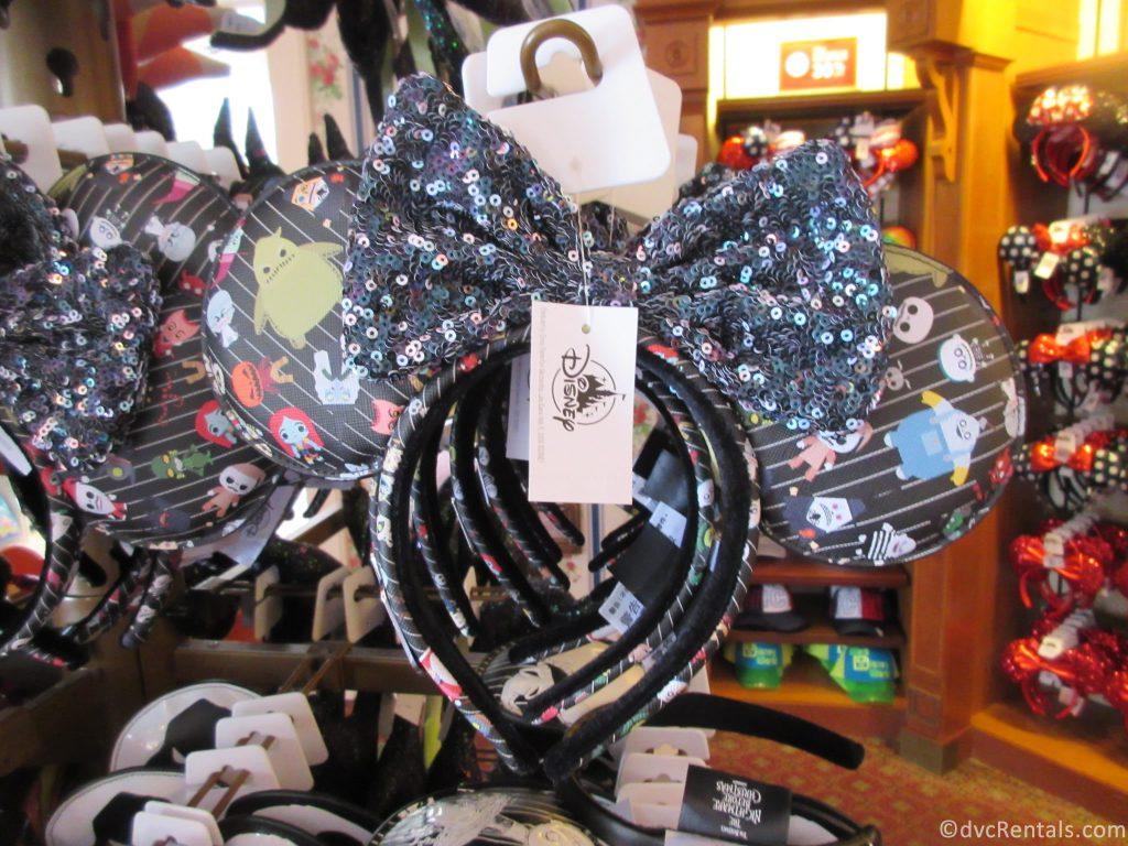 Halloween Themed Mickey Mouse Ears