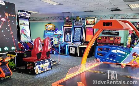 Arcade at Disney's Beach Club Villas