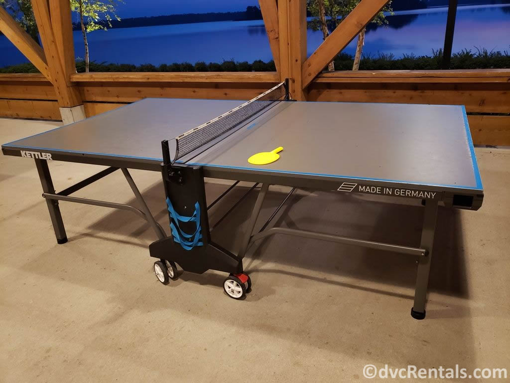 Ping Pong table at a WDW Community Hall
