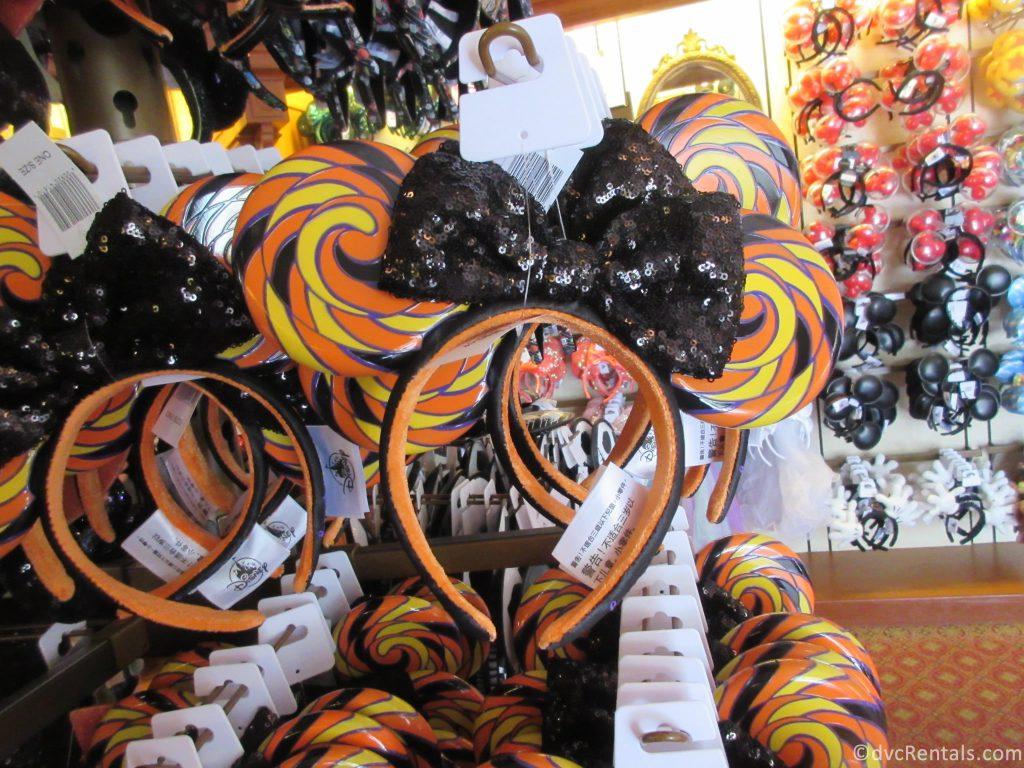 Halloween Themed Mickey Ears