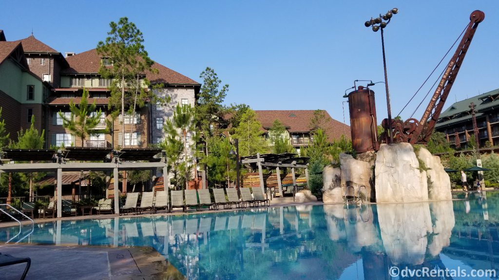 Leisure pool at Boulder Ridge Villas at Disney's Wilderness Lodge