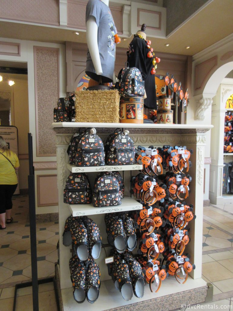 Halloween Merchandise from the Magic Kingdom