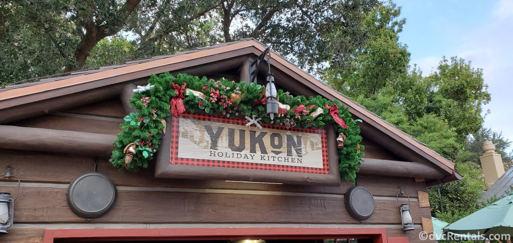 Yukon Holiday Kitchen at Epcot