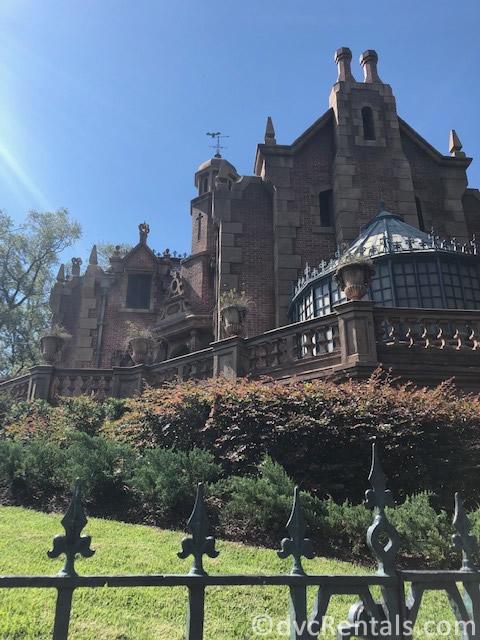the Haunted Mansion at the Magic Kingdom