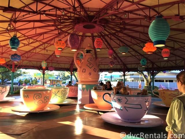 Mad Tea Party at the Magic Kingdom